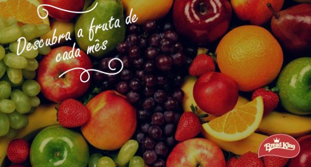 Descubra a fruta de cada mês